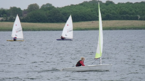 Charlotte Sharp at Cambs Youth League Grafham Water SC 2013